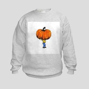 Great Pumpkn Kids Sweatshirt
