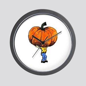 Great Pumpkn Wall Clock