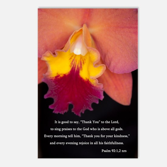 Psalm 92 Postcards (Package of 8)