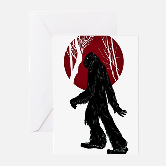 Gone Squatchin Greeting Cards (Pk of 10)