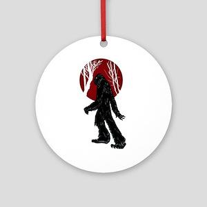 Gone Squatchin Ornament (Round)