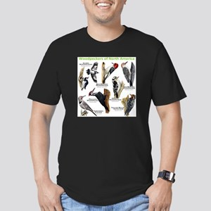 Woodpeckers of North America Men's Fitted T-Shirt