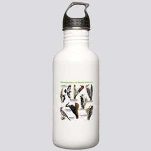 Woodpeckers of North America Stainless Water Bottl