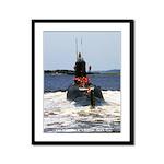 USS MARIANO G. VALLEJO Framed Panel Print
