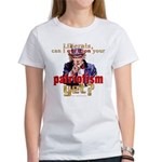 Question Liberal Patriotism? Women's T-Shirt