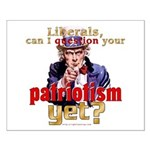 Question Liberal Patriotism? Small Poster