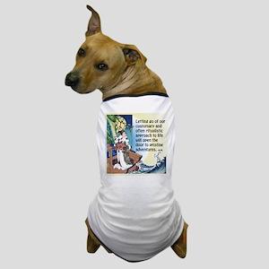 Pristine Adventures Await You Dog T-Shirt