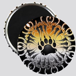 Tribal Bear Pride Paw Magnet