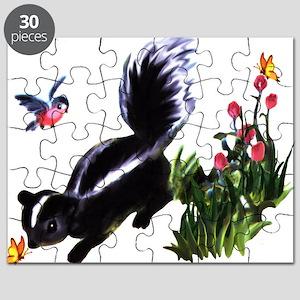 Cute Baby Skunk Puzzle
