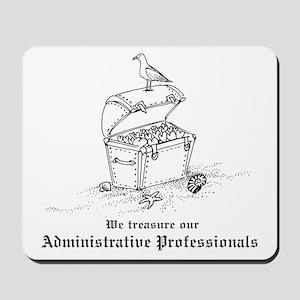 Treasure Administrative Pros Mousepad
