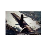 USS MICHIGAN Rectangle Magnet