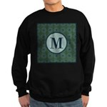 Cathedral Blue Monogram Sweatshirt (dark)