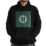 Cathedral Blue Monogram Hoodie (dark)