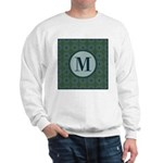 Cathedral Blue Monogram Sweatshirt