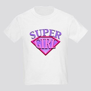 Super Girl (Pink) Kids T-Shirt