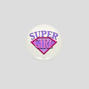 Super Girl (Pink) Mini Button