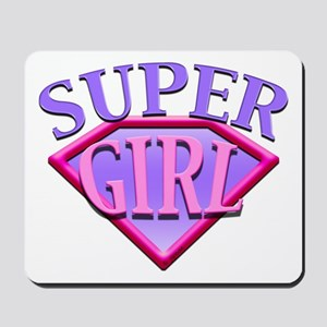 Super Girl (Pink) Mousepad