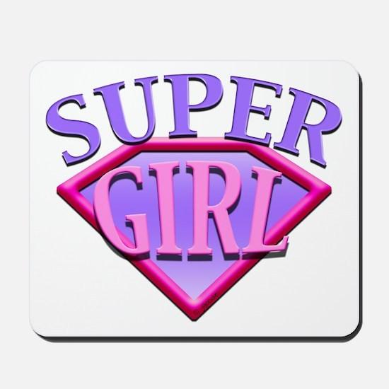 Super Girl (Pink) Mousepad