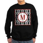 Diamond Red Monogram Sweatshirt (dark)