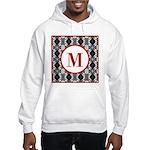 Diamond Red Monogram Hooded Sweatshirt
