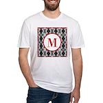 Diamond Red Monogram Fitted T-Shirt