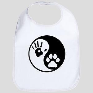 Human & Dog Yin Yang Bib