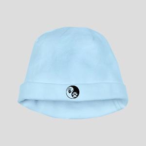 Human & Dog Yin Yang baby hat