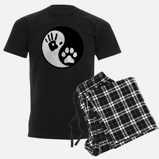 Human & Dog Yin Yang pajamas