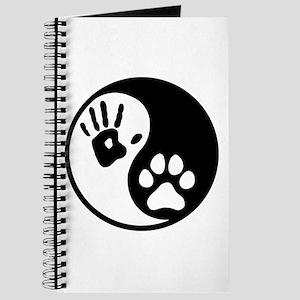 Human & Dog Yin Yang Journal