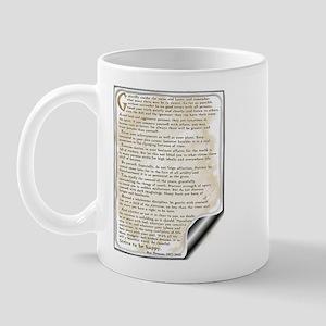 Desiderata: Mug