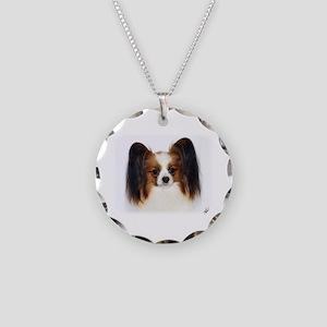 Papillon AC032D-056 Necklace Circle Charm
