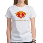 Wisdom Lotus in Orange Women's T-Shirt