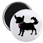 Chihuahua Breast Cancer Awareness Magnet