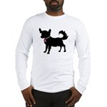 Chihuahua Breast Cancer Awareness Long Sleeve T-Sh
