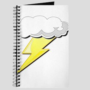 Lightning Bolt and Cloud Journal