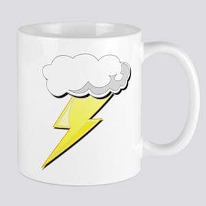 Lightning Bolt and Cloud Mug