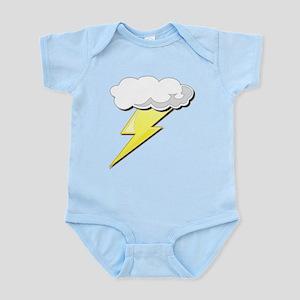 Lightning Bolt and Cloud Infant Bodysuit