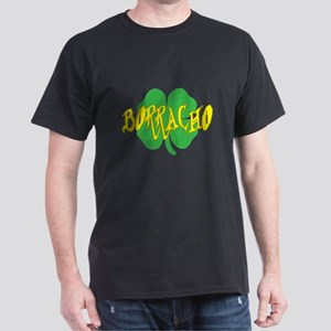 borracho shamrock Dark T-Shirt