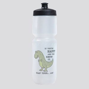 T-Rex Clap II Sports Bottle
