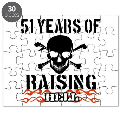 51 years of raising hell Puzzle