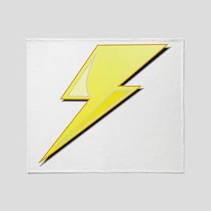 Simple Lightning Bolt Throw Blanket
