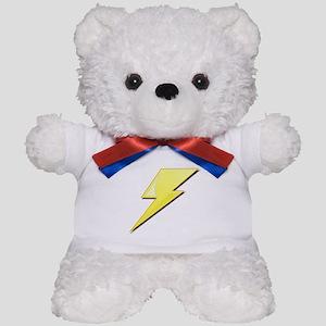 Simple Lightning Bolt Teddy Bear