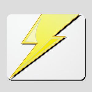 Simple Lightning Bolt Mousepad