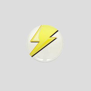 Simple Lightning Bolt Mini Button