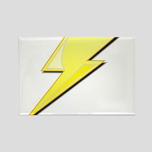 Simple Lightning Bolt Rectangle Magnet