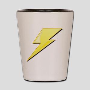 Simple Lightning Bolt Shot Glass