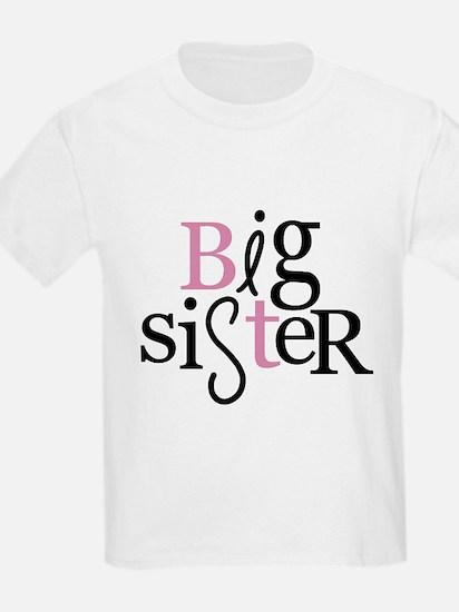 big sister type color T-Shirt