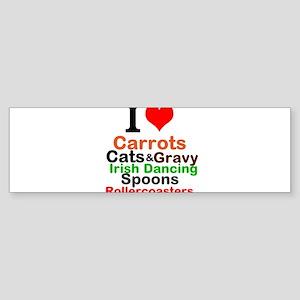 I Heart One Direction Sticker (Bumper)
