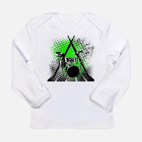 Drums & Sticks Long Sleeve Infant T-Shirt