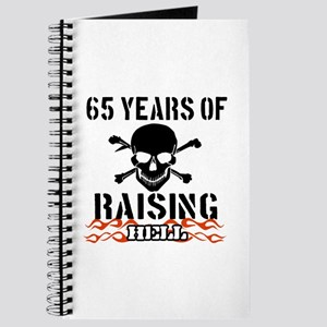 65 years of raising hell Journal